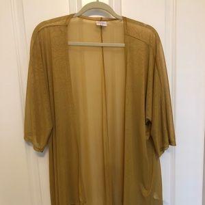 LuLaRoe Sweaters - EUC LulaRoe Lindsey size Small